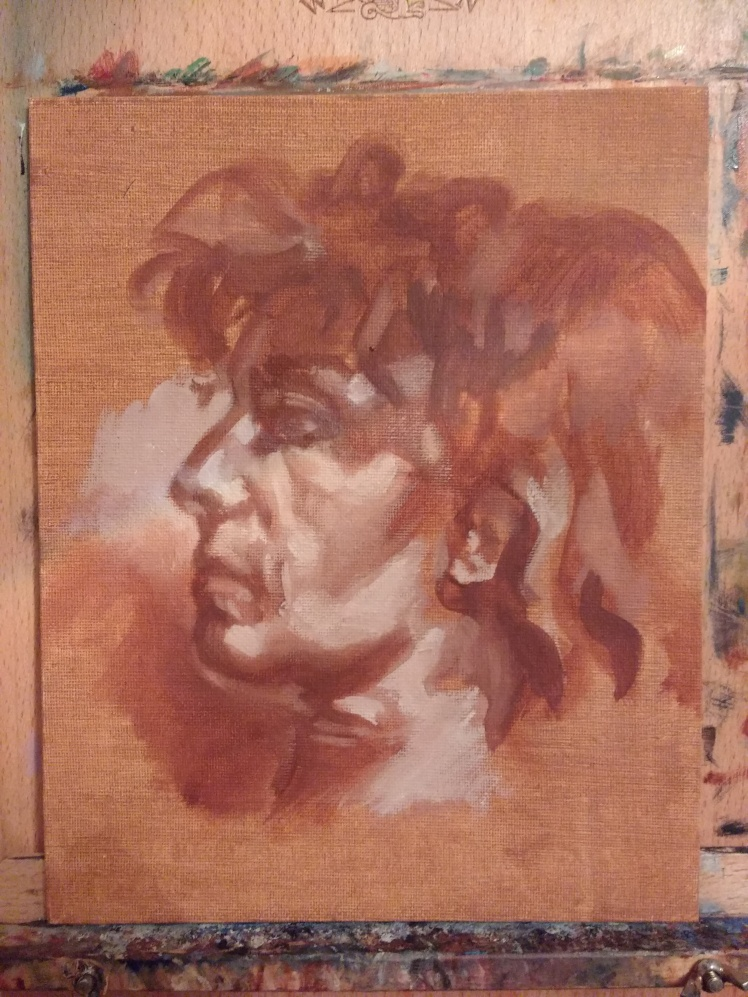 Study of a woman 1