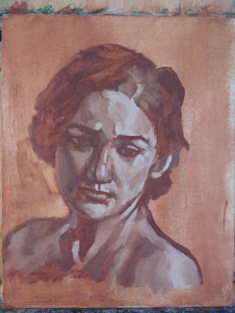 Study of a woman 2